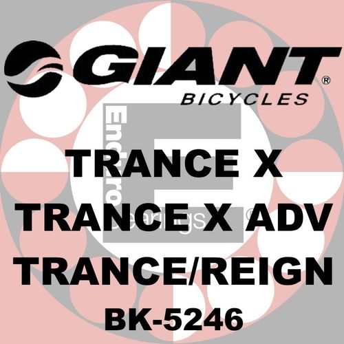 Kit de roulements GIANT- BK-5246
