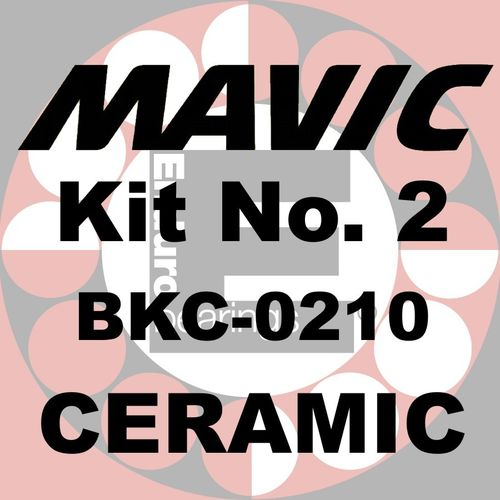 Kit de roulements MAVIC No.2 CERAMIC - BKC-0210