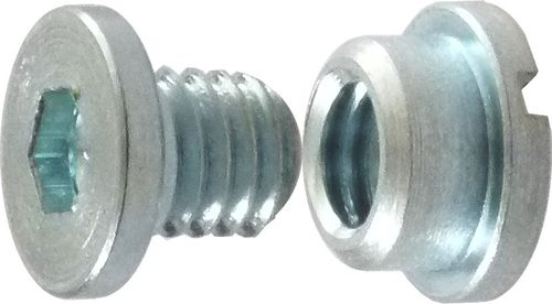 M6 Nut and Bolt for derailleur hanger and frame attachment