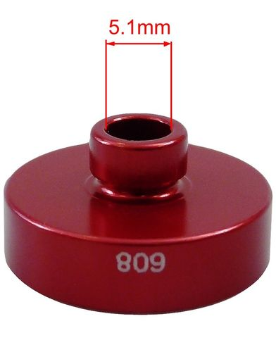 WHEELS MFG Open bore adapter for 608 bearings