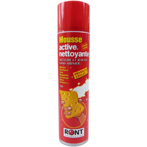Mousse active nettoyante