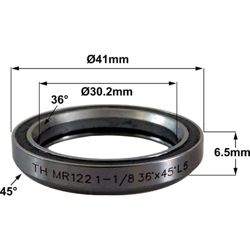 TH MR122 30.2 x 41 x 6.5 (36°x45°) Bearing