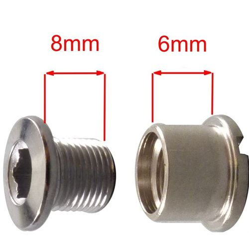 Nut and Bolt for chainring attachment