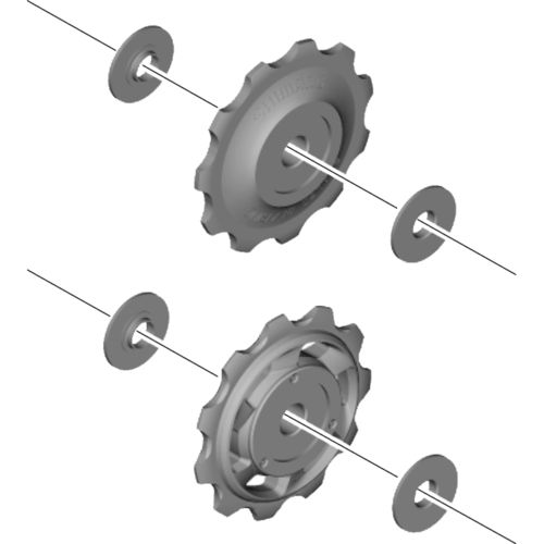 Shimano RD-M773 Guide pulley set Y5XF98130