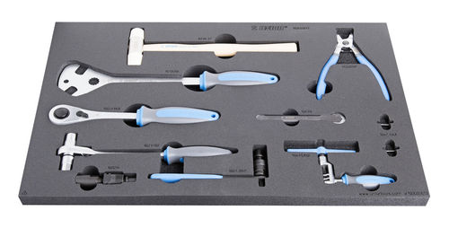 UNIOR  Set of tool in SOS tool tray - 1600SOS13