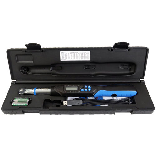 "UNIOR Electronic torque wrench 1.5-30 Nm 1/4"" - 266"