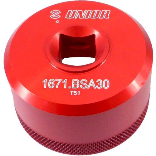 UNIOR Bottom bracket socket BSA30 - 1671.BSA30