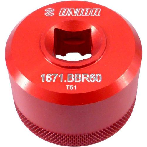 UNIOR Bottom bracket socket BBR60 - 1671.BBR60