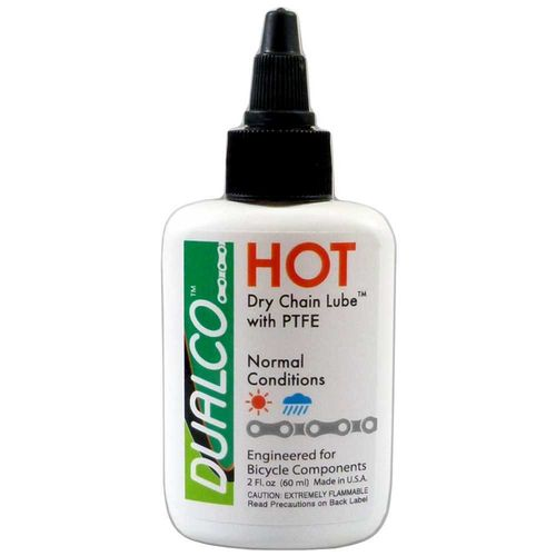 "DUALCO ""HOT"" Dry chain lube with PTFE 60 mL"