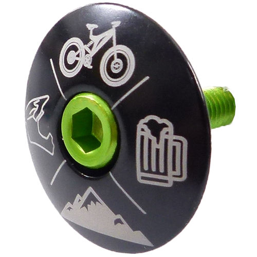 """MTB Cross"" Stem Cap"