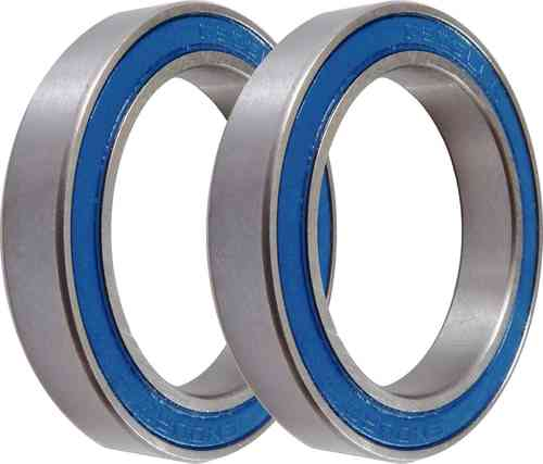 Pair of 6806/29 (DUB Compatible) ABEC-3 Sealed Bearings