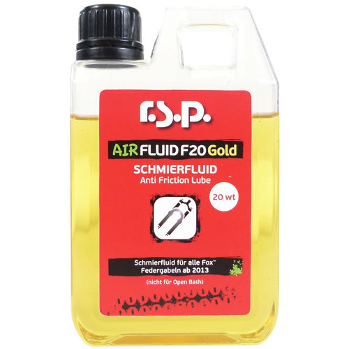 "R.S.P. ""AIRFLUID F20 GOLD"" 250ml"